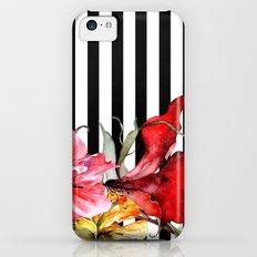 FLORA BOTANICA | stripes iPhone 5c Slim Case