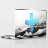 mountains Laptop & iPad Skins featuring Mountains by Amy Hamilton