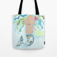 Water Fairy Mermaid Tote Bag