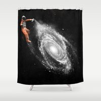 Space Art Shower Curtain