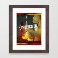 Propulsion Framed Art Print