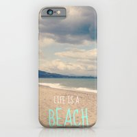 LIFE IS A BEACH iPhone 6 Slim Case