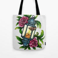 A Moth To The Flame Tote Bag