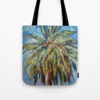Canary Island Date Palm Tote Bag