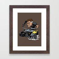 Mad Maxfink Framed Art Print