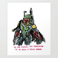 clones of a loser, that's why the empire lost Art Print
