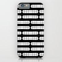 Grift Black & White Pattern iPhone 6 Slim Case