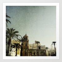 Where The Guadalquivir M… Art Print