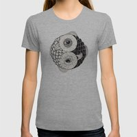 Pisces Womens Fitted Tee Athletic Grey SMALL
