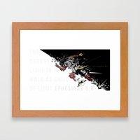 I Am Lane 9 Framed Art Print