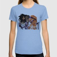 Badu Womens Fitted Tee Athletic Blue SMALL