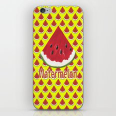 W Is For Watermelon iPhone & iPod Skin