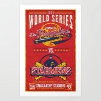 World Series 19XX Art Print