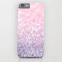 Pink and Lavender Glitter iPhone 6 Slim Case