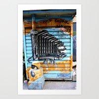 Double Take Art Print