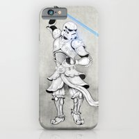 iPhone & iPod Case featuring Samurai Trooper by happiestfung