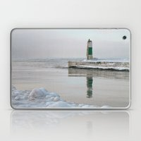 Winter in Holland, Michigan Laptop & iPad Skin