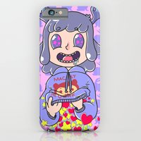 iPhone & iPod Case featuring Deer boy Organs by Thais Magnta Canha
