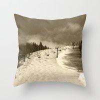 Superstar Killington Vermont Throw Pillow