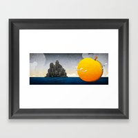 James & The Giant Peach Framed Art Print