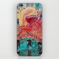 iPhone & iPod Skin featuring It formed itself after the gods defeated the Titans  by Jelly and Paul