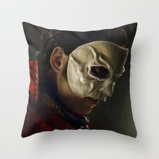 The Phantom of the Opera Throw Pillow