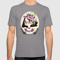 Day of the Beautiful Dead  Mens Fitted Tee Tri-Grey SMALL