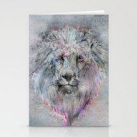 Heart Like A Lion Stationery Cards