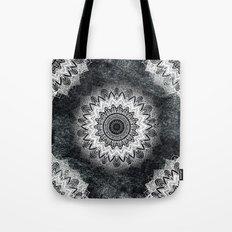 MONOCHROME BOHOCHIC MANDALA Tote Bag