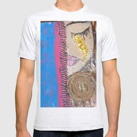 Tears Of Gold Mens Fitted Tee Ash Grey SMALL