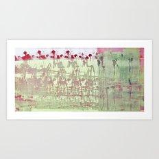 abstract 117 Art Print
