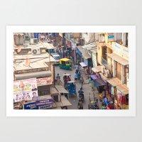 India New Delhi Paharganj 5536 Art Print