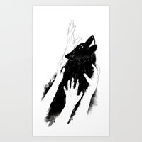Wolves of Paris Art Print