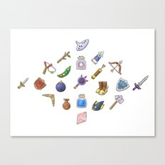 Growing Up in Hyrule Canvas Print