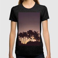 Florida Womens Fitted Tee Tri-Black SMALL