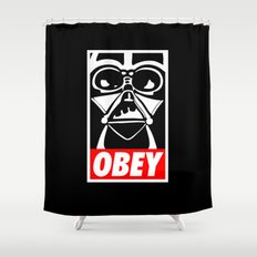 Obey Darth Vader - Star Wars Shower Curtain