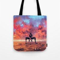 CANCER from the Dancing Zodiac Tote Bag