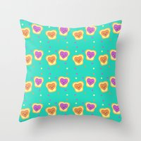 Sweet Lovers - Pattern Throw Pillow