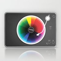 Pantune - The Color of Sound Laptop & iPad Skin