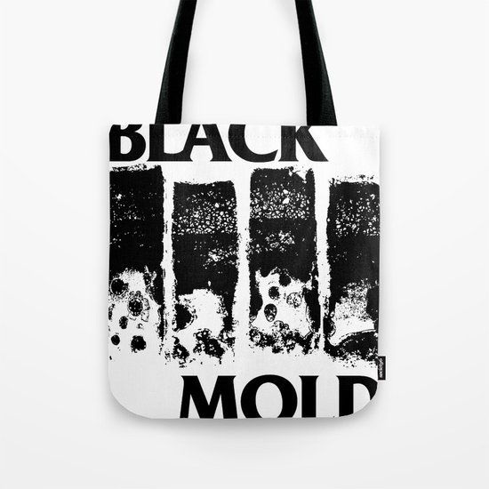 Black Mold Tote Bag