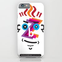 Type Faces No.2: David Bowie as Aladdin Sane brought to you in the typeface: Futura iPhone 6 Slim Case