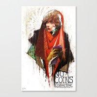 Red Riding Hood Boys: No… Canvas Print