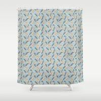 Logs Shower Curtain