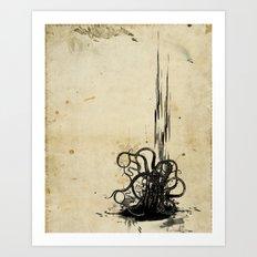(s)inked Art Print