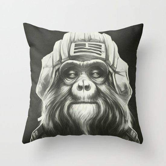 Commander Throw Pillow