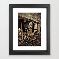 Come Rock Awhile Framed Art Print