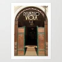 Divadlo Viola Theatre, Prague Art Print