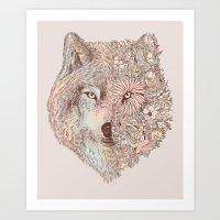 A Wild Life Art Print