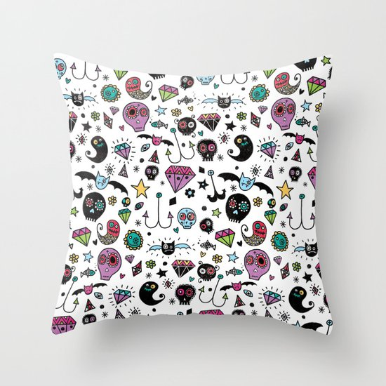Day of the dead No.2 Throw Pillow
