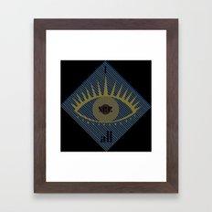 I see all Framed Art Print